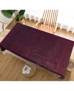ARADENT™ High Quality PVC Brown Dining Table Cover for Living Room 60X90 Inches