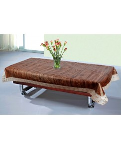 ARADENT™ High Quality PVC Brown Center Table Cover for Living Room 40*60 Inches