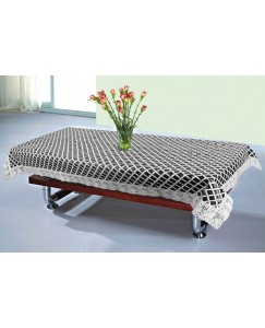 ARADENT™ High Quality PVC Black & White Center Table Cover for Living Room 40*60 Inches