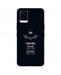 Desirevalley Batman Quote Stylish Back Cover All Models