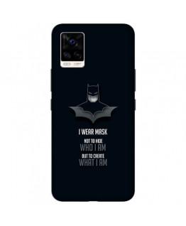 Desirevalley Batman Quote Stylish Back Cover All Models VIVO,SAMSUNG,OPPO,REALME,NOKIA,ONEPLUS,IPHONE,XIAOMI,REDMI