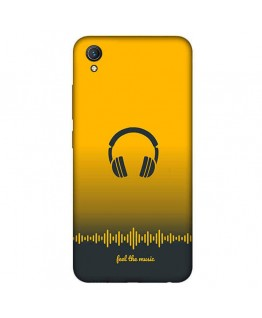"""Desirevalley """"Feel The Music"""" QuoteStylish Back Cover All Models VIVO,SAMSUNG,OPPO,REALME,NOKIA,ONEPLUS,IPHONE,XIAOMI,REDMI"""