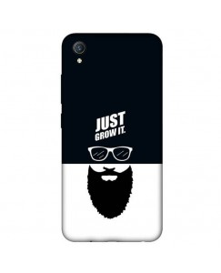 "Desirevalley ""Just Grow It"" Stylish Back Cover All Models VIVO,SAMSUNG,OPPO,REALME,NOKIA,ONEPLUS,IPHONE,XIAOMI,REDMI"