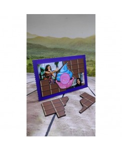 Desirevalley Chocolate and Cup Cake Magnetic frame