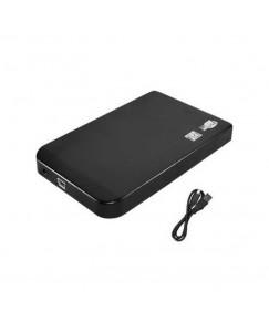 XBOLT 2.5 in USB 2.0 SATA HDD Hard Drive & SSD External Enclosure Case 2.5 inch EXTERNAL CASE  (For HARD DRIVE, SSD, Black)
