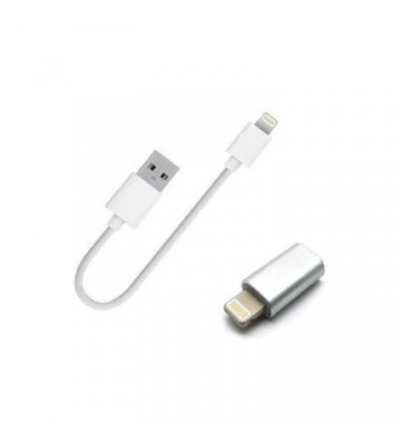 XBOLT 10.5cm lighting cable with lighting connector combo 10.5cm lighting cable with lighting connector combo USB Cable  (White)