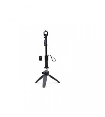 XBOLT 2 IN 1 Selfie Stick with Bluetooth remote and Tripod  (Black, Supports Up to 3 g)