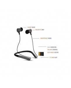 XBOLT 2 MOBILE CONNECTIVITY WITH MIC AND MEMORY CARD SLOT Bluetooth Headset  (Black, In the Ear)