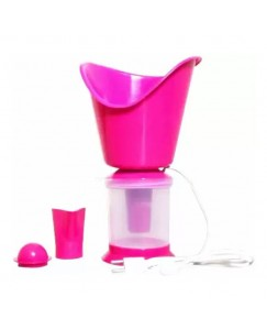 Xbolt Health Care Steam Vaporizer With 3 Attachments Facial Steamer, Nose Steamer, Cold And Cough Steamer, Vaporizer (Pink)