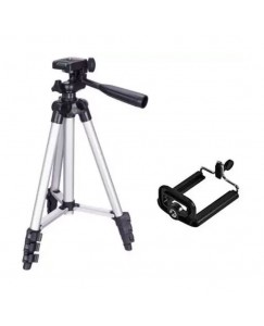 Xbolt 3110 Tripod Stand For Phone And Camera Adjustable Aluminum Alloy Tripod Stand Holder For Mobile Phones With Mobile Holder Clip