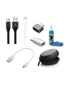 Xbolt Usb Gadget Accessory Combo For Mobile, Tablet, Laptop, Computer (White)