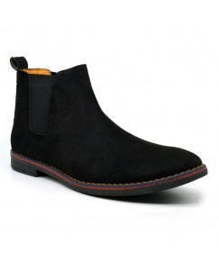 Casuals, Party Wear CHLBOOT For Men (Black & Blue)