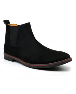 MrBaniye Chelsea Boots For Men Black
