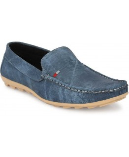 Iaddicted Men'S Synthetic Denim Loafers