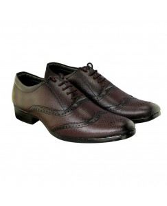 JANTA Man brown formal shoes