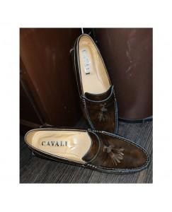 Mrbaniye Casuals, Party Wear Loafers For Men (Brown)