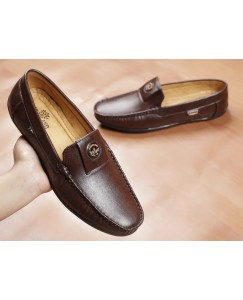 Casuals, Party Wear Loafers For Men (Brown)