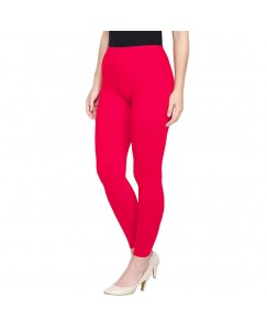 Have More Ankle length Lycra leggings Red