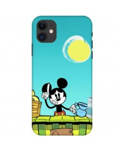 Printyourthinks  Cartoon Mickey Minnie Mouse  APPLE IPHONE 11 PRO Mobile Cover