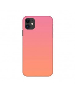 Printyourthinks  peach color Iphone 11 Pro Mobile Cover