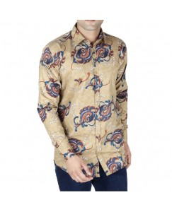 Jodhpuri Printed Shirt For Men's (Khakhi)