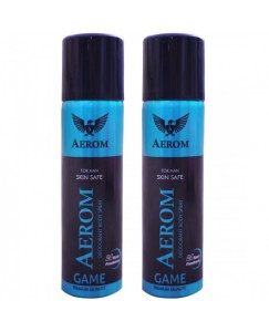 Bestcart Aerom Game And Game Deodorant Body Spray For Men 300 Ml Pack Of 2