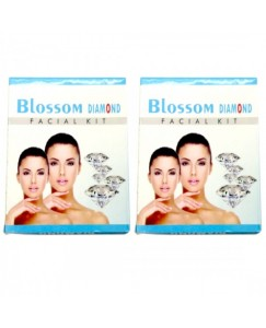 (bestcart4you) Blossom Diamond And Diamond Facial Kit for Women, Pack of 2, 80 Gm
