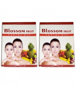(bestcart4you) Blossom Fruit And Fruit Facial Kit for Women, Pack of 2, 80 Gm