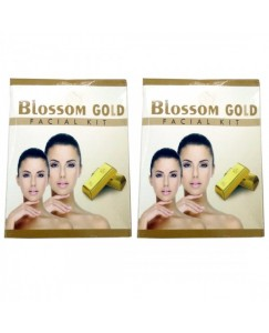 (bestcart4you) Blossom Gold And Gold Facial Kit for Women, Pack of 2, 80 Gm