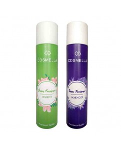 Bestcart Cosmella Air Freshener Jasmin And Lavender For Room Home Office Party Hall 310Ml Pack Of 2