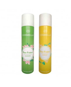 Bestcart Cosmella Air Freshener Jasmin And Lemon For Room Home Office Party Hall 310Ml Pack Of 2