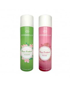Bestcart Cosmella Air Freshener Jasmin And Rose For Room Home Office Party Hall 310Ml Pack Of 2