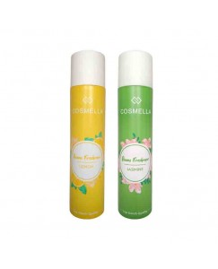 Bestcart Cosmella Air Freshener Lemon And Jasmine For Room Home Office Party Hall 310Ml Each Pack Of 2