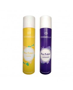 Bestcart Cosmella Air Freshener Lemon And Lavender For Room Home Office Party Hall 310Ml Each Pack Of 2