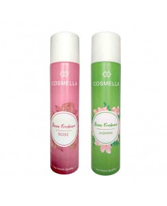 Bestcart Cosmella Air Freshener Rose And Jasmine For Room Home Office Party Hall 310Ml Each Pack Of 2