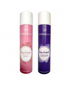 Bestcart Cosmella Air Freshener Rose And Lavender For Room Home Office Party Hall 310Ml Each Pack Of 2