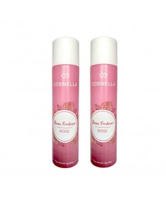 Bestcart Cosmella Air Freshener Rose For Room Home Office Party Hall 310Ml Each Pack Of 2