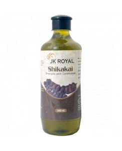 (bestcart4you)  JK Royal Shikakai Shampoo with Conditioner for Hair 500 ml
