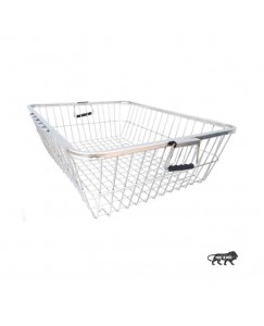 Prabhed High Grade Stainless Steel Dish Drainer Basket for Kitchen/Dish Drying Rack/Bartan Basket (Size 60 x 49 x 20 cm)